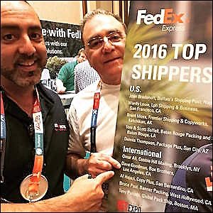 Box Brothers LA  2016 Fedex #2 top international retail shipper