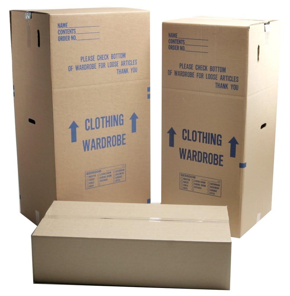 Wardrobe Boxes Goodman Packing Amp Shipping