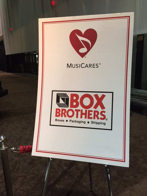 Box Bros LA provided logisitics at 4 locations, packs and ships all auction items for 2017 Grammys/MusiCares Person of the Year