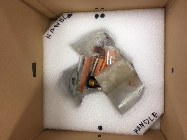 Hardware is packed to be safe AND removable. So we make handles for unpacking and re-packing, should you require it