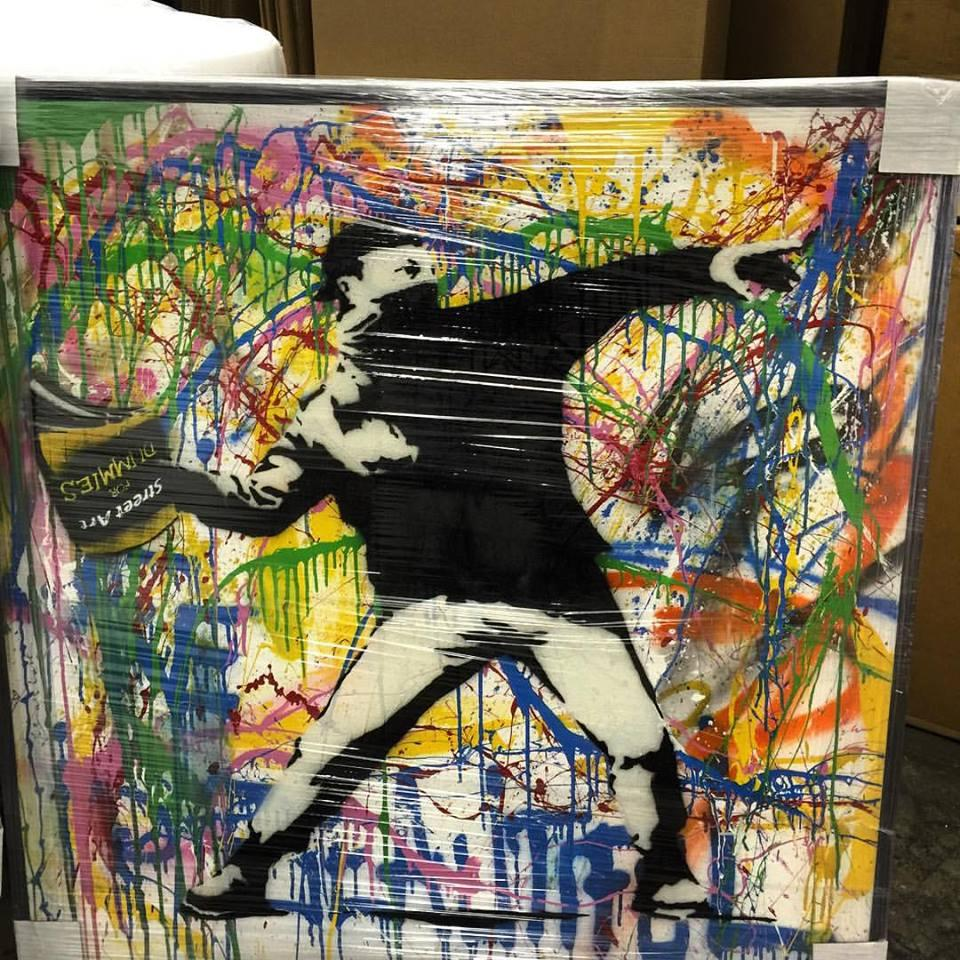 "<a href=""/image/image-galleries/box-brothers-la/packing-banksy-piece"">packing Banksy piece</a>"
