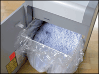 Be sure your documents are shredded and disposed of safely