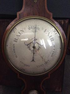 19th Century M.Gohin Freres et fils barometer