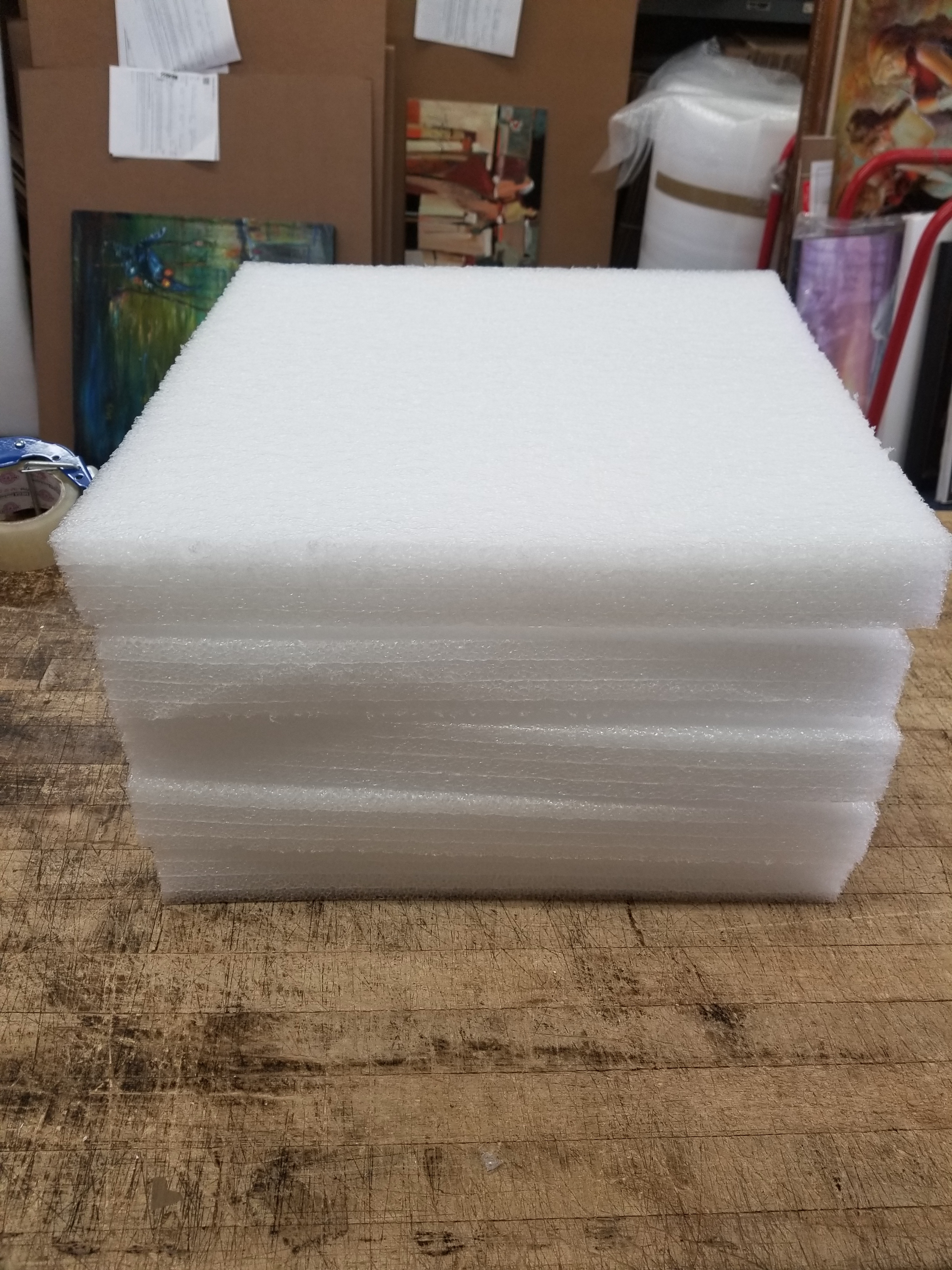 here's how we pack a Roy Lichtenstein