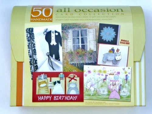 50 piece PaperMagic Handmade Card Set