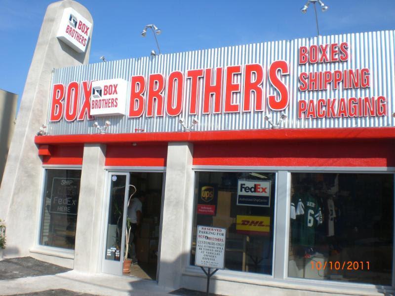 Box Bros Los Feliz - front door