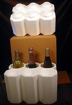 Winepacks in six bottle size.